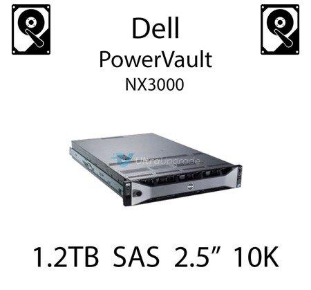 """1.2TB 2.5"""" dedykowany dysk serwerowy SAS do serwera Dell PowerVault NX3000, HDD Enterprise 10k - 400-AGVY"""