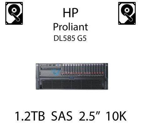 """1.2TB 2.5"""" dedykowany dysk serwerowy SAS do serwera HP ProLiant DL585 G5, HDD Enterprise 10k, 12GB/s - 785415-001 (REF)"""