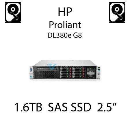 """1.6TB 2.5"""" dedykowany dysk serwerowy SAS do serwera HP ProLiant DL380e G8, SSD Enterprise  - 762263-B21 (REF)"""