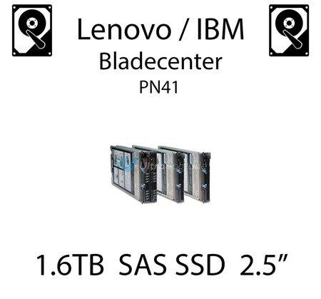 "1.6TB 2.5"" dedykowany dysk serwerowy SAS do serwera Lenovo / IBM Bladecenter PN41, SSD Enterprise , 600MB/s - 49Y6200"