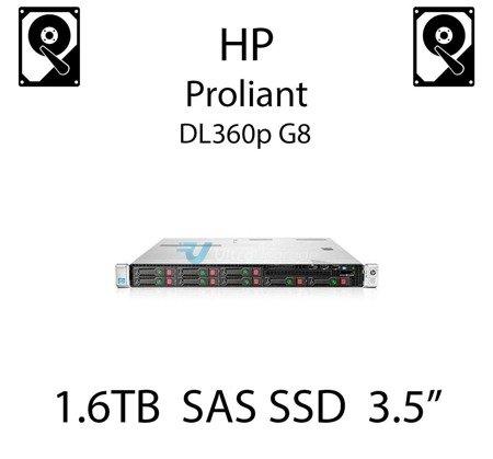 "1.6TB 3.5"" dedykowany dysk serwerowy SAS do serwera HP ProLiant DL360p G8, SSD Enterprise , 1.2GB/s - 762752-001 (REF)"