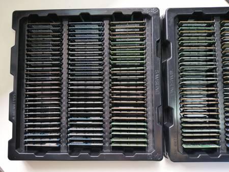 100x Pamięć RAM 2GB PC3-10600 Samsung, Hynix, Elpida, Nanya, Kingston, Crucial