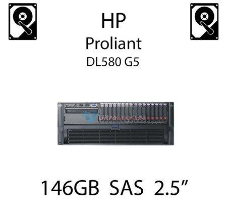 """146GB 2.5"""" dedykowany dysk serwerowy SAS do serwera HP ProLiant DL580 G5, HDD Enterprise , 300MB/s - 432320-001 (REF)"""
