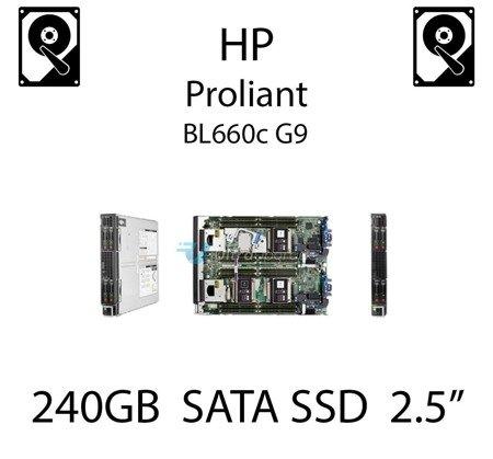 """240GB 2.5"""" dedykowany dysk serwerowy SATA do serwera HP ProLiant BL660c G9, SSD Enterprise  - 804587-B21 (REF)"""
