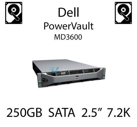 """250GB 2.5"""" dedykowany dysk serwerowy SATA do serwera Dell PowerVault MD3600, HDD Enterprise 7.2k, 320MB/s - P383F"""