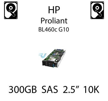 """300GB 2.5"""" dedykowany dysk serwerowy SAS do serwera HP ProLiant BL460c G10, HDD Enterprise 10k, 12Gbps - 872475-B21 (REF)"""