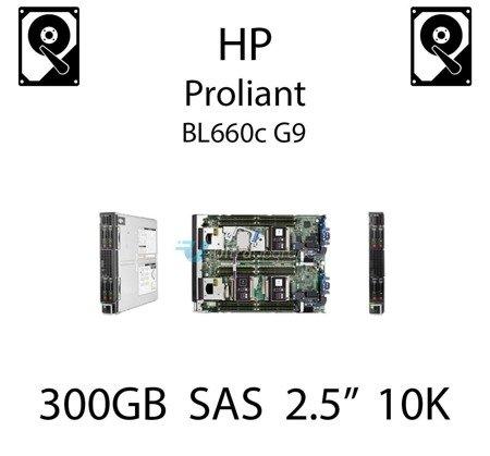 """300GB 2.5"""" dedykowany dysk serwerowy SAS do serwera HP ProLiant BL660c G9, HDD Enterprise 10k, 6Gbps - 653955-001 (REF)"""