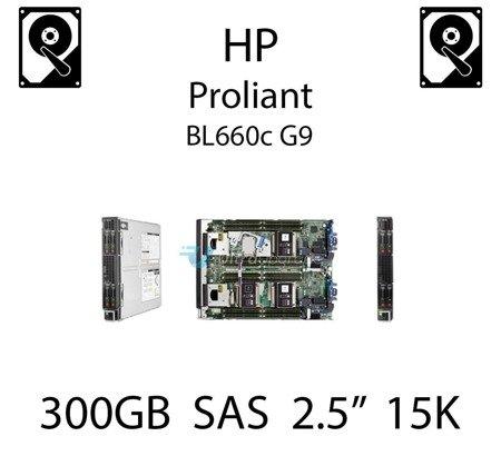 """300GB 2.5"""" dedykowany dysk serwerowy SAS do serwera HP ProLiant BL660c G9, HDD Enterprise 15k, 12Gb/s - 759546-001 (REF)"""