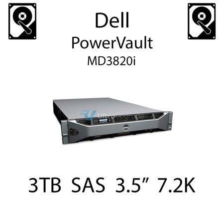 """3TB 3.5"""" dedykowany dysk serwerowy SAS do serwera Dell PowerVault MD3820i, HDD Enterprise 7.2k, 6Gbps - 698PM"""