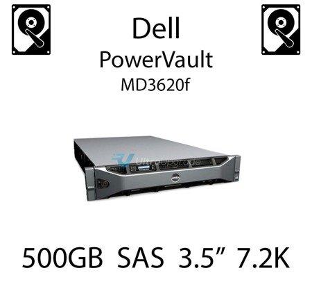 """500GB 3.5"""" dedykowany dysk serwerowy SAS do serwera Dell PowerVault MD3620f, HDD Enterprise 7.2k, 6Gbps - U717K"""