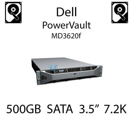 """500GB 3.5"""" dedykowany dysk serwerowy SATA do serwera Dell PowerVault MD3620f, HDD Enterprise 7.2k, 600MB/s - C3YJM"""