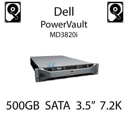 """500GB 3.5"""" dedykowany dysk serwerowy SATA do serwera Dell PowerVault MD3820i, HDD Enterprise 7.2k, 600MB/s - C3YJM"""