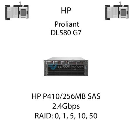 Kontroler RAID HP P410/256MB SAS  462862-B21, 2.4Gbps - 462862-B21