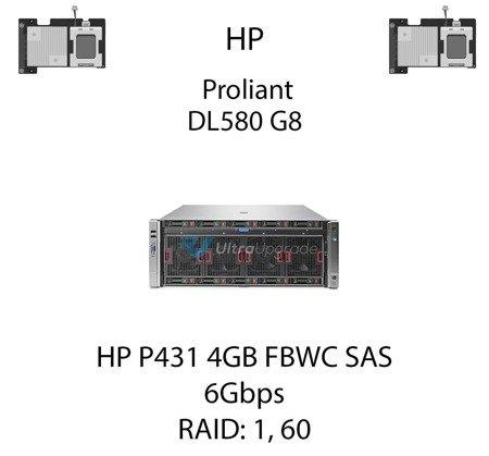 Kontroler RAID HP P431 4GB FBWC SAS, 6Gbps - 698532-B21