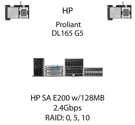 Kontroler RAID HP SA E200 w/128MB BBWC, 2.4Gbps - 411508-B21