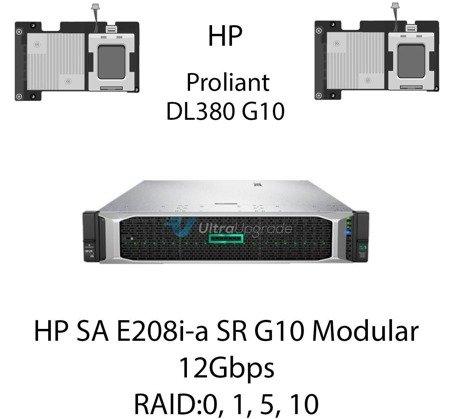 Kontroler RAID HP SA E208i-a SR G10 Modular, 12Gbps (SAS) / 6Gbps (SATA) - 804326-B21