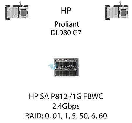 Kontroler RAID HP SA P812 /1G FBWC SAS, 2.4Gbps - 487204-B21