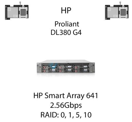 Kontroler RAID HP Smart Array 641, 2.56Gbps - 291966-B21